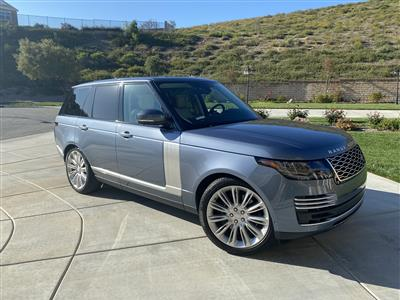 2019 Land Rover Range Rover lease in Los Angeles,CA - Swapalease.com
