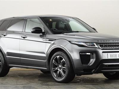 2018 Land Rover Range Rover Evoque lease in Rocklin,CA - Swapalease.com