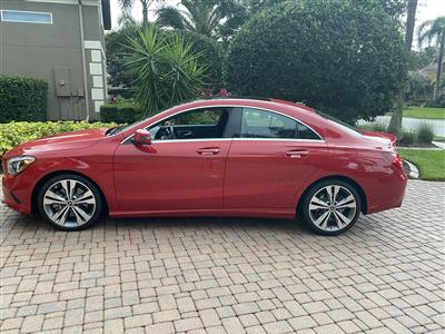 2019 Mercedes-Benz CLA Coupe lease in Lakewood Ranch,FL - Swapalease.com