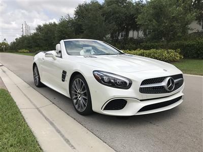 2018 Mercedes-Benz SL Roadster lease in Naples,FL - Swapalease.com