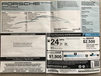 2019 Porsche 911 lease in Lansdale,PA - Swapalease.com
