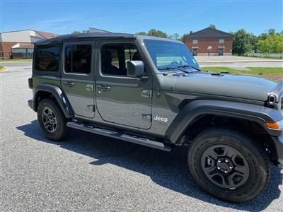 2020 Jeep Wrangler Unlimited lease in Williamstown,NJ - Swapalease.com