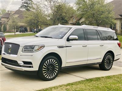 2019 Lincoln Navigator L lease in Kingwood,TX - Swapalease.com