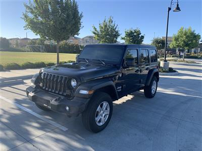 2020 Jeep Wrangler Unlimited lease in Murrieta,CA - Swapalease.com