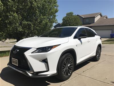 2017 Lexus RX 350 F Sport lease in Dallas,TX - Swapalease.com