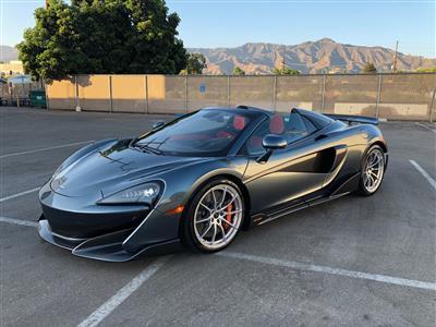 2020 McLaren 600LT Spider lease in Glendale,CA - Swapalease.com