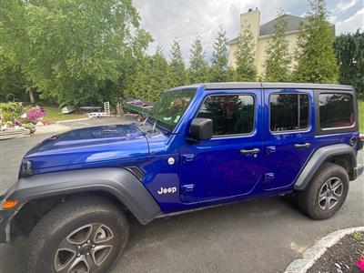 2019 Jeep Wrangler Unlimited lease in Somerset,NJ - Swapalease.com