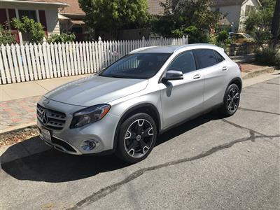 2018 Mercedes-Benz GLA SUV lease in Santa Barbara,CA - Swapalease.com