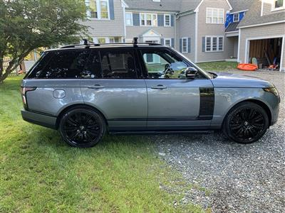 2019 Land Rover Range Rover lease in Swampscott,MA - Swapalease.com