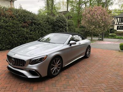 2018 Mercedes-Benz S-Class Cabriolet lease in Greenwich,CT - Swapalease.com