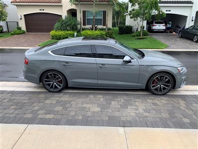 2019 Audi S5 Sportback lease in DelRay Beach,FL - Swapalease.com
