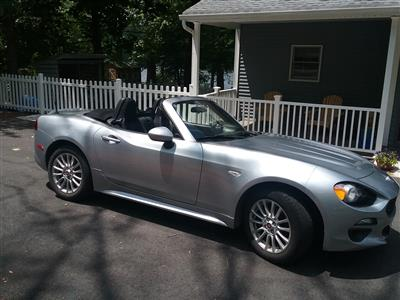 2018 Fiat 124 Spider lease in Hewitt,NJ - Swapalease.com