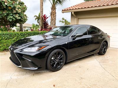 2019 Lexus ES 350 F Sport lease in Boca Raton,FL - Swapalease.com