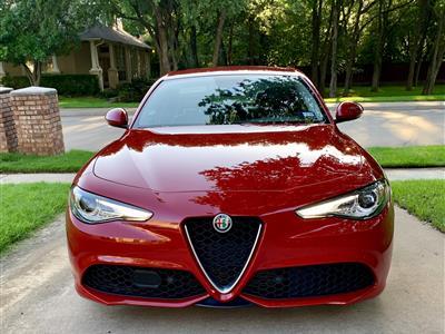 2018 Alfa Romeo Giulia lease in COLLEYVILLE,TX - Swapalease.com