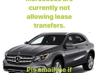 2019 Mercedes-Benz GLA SUV lease in La Jolla,CA - Swapalease.com