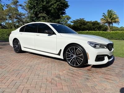 2019 BMW 7 Series lease in Naples,FL - Swapalease.com