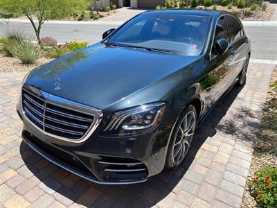 2018 Mercedes-Benz S-Class lease in Las Vegas,NV - Swapalease.com