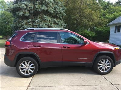 2018 Jeep Cherokee lease in Fremont,OH - Swapalease.com