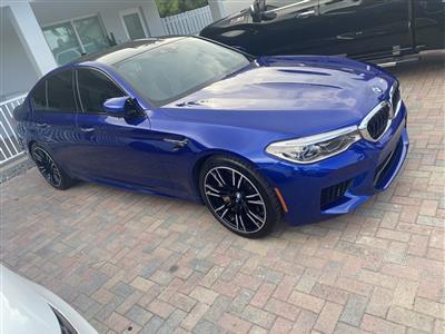 2018 BMW M5 lease in Miami,FL - Swapalease.com