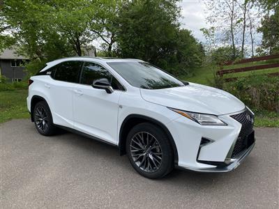 2018 Lexus RX 350 F Sport lease in Elk Mound,WI - Swapalease.com