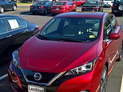 2018 Nissan LEAF lease in Fairfax,VA - Swapalease.com