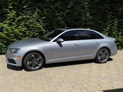 2020 Audi A4 lease in CHATHAM,NJ - Swapalease.com