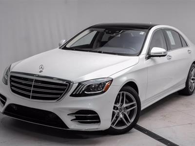 2020 Mercedes-Benz S-Class lease in Lansing,MI - Swapalease.com