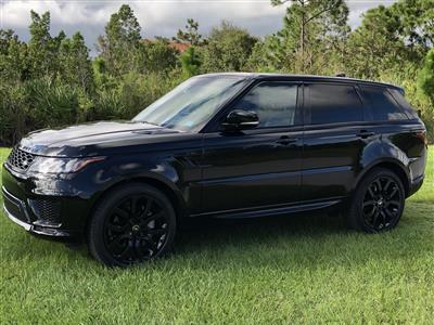 2020 Land Rover Range Rover Sport lease in Palm Beach,FL - Swapalease.com