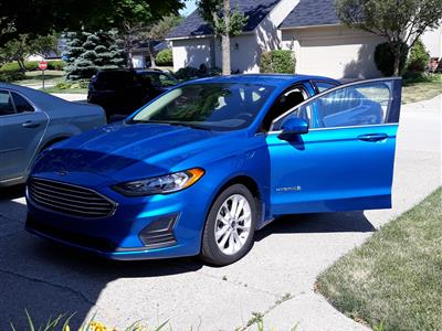 2019 Ford Fusion Hybrid lease in Clinton Township,MI - Swapalease.com