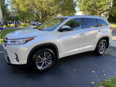 2018 Toyota Highlander lease in Alantown,PA - Swapalease.com
