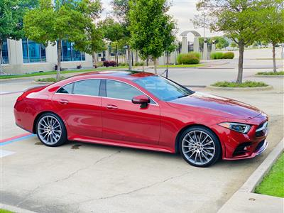 2019 Mercedes-Benz CLS Coupe lease in Irving,TX - Swapalease.com