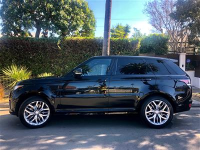 2015 Land Rover Range Rover Sport lease in Venice,CA - Swapalease.com