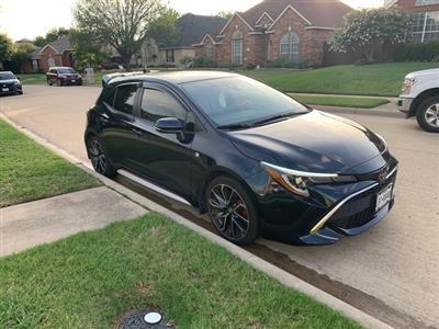 2019 Toyota Corolla Hatchback lease in Frisco,TX - Swapalease.com