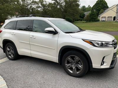 2018 Toyota Highlander lease in Phoenixville,PA - Swapalease.com