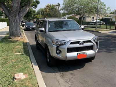 2018 Toyota 4Runner lease in Van Nuys,CA - Swapalease.com