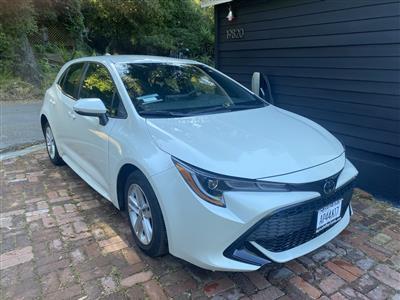 2019 Toyota Corolla Hatchback lease in Topanga,CA - Swapalease.com