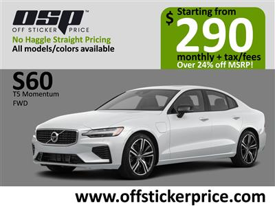 2020 Volvo S60 lease in Englewood Cliffs,NJ - Swapalease.com