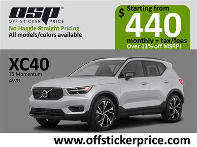 2020 Volvo XC40 lease in Englewood Cliffs,NJ - Swapalease.com