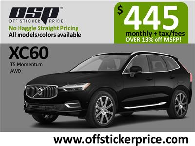 2020 Volvo XC60 lease in Englewood Cliffs,NJ - Swapalease.com