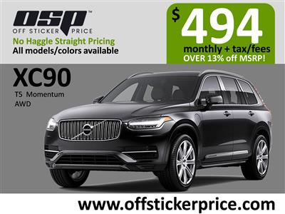 2020 Volvo XC90 lease in Englewood Cliffs,NJ - Swapalease.com