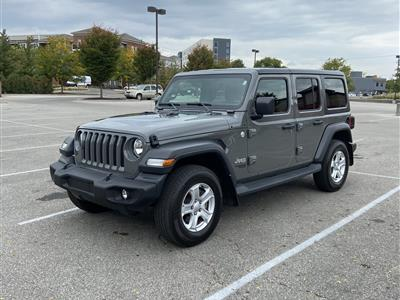 2019 Jeep Wrangler Unlimited lease in Upper Arlington,OH - Swapalease.com