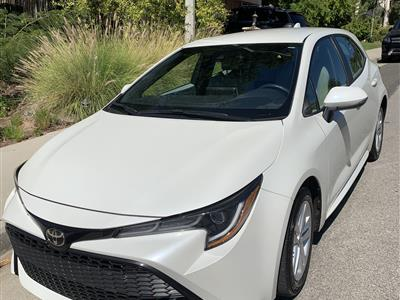 2019 Toyota Corolla Hatchback lease in Calabasas,CA - Swapalease.com