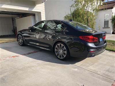 2018 BMW 5 Series lease in Aliso Viejo,CA - Swapalease.com