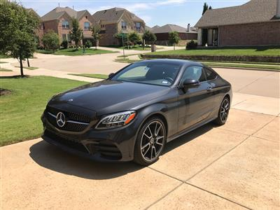 2020 Mercedes-Benz C-Class lease in Frisco,TX - Swapalease.com