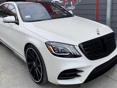 2019 Mercedes-Benz S-Class lease in Toluca Lake,CA - Swapalease.com