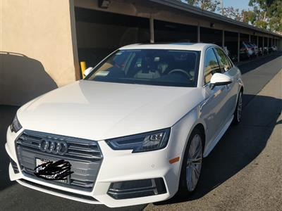 2018 Audi A4 lease in Woodland hills,CA - Swapalease.com