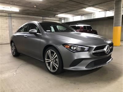 2020 Mercedes-Benz CLA Coupe lease in Los Angelesq,CA - Swapalease.com