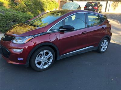 2019 Chevrolet Bolt EV lease in Danville,CA - Swapalease.com