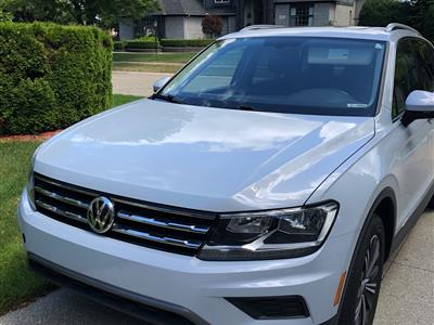2018 Volkswagen Tiguan lease in SHELBY TOWNSHIP,MI - Swapalease.com
