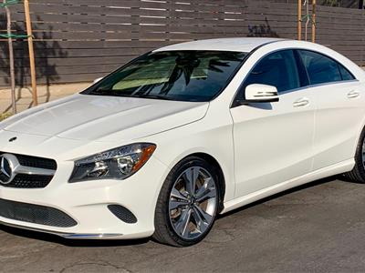 2018 Mercedes-Benz CLA Coupe lease in Los Angeles,CA - Swapalease.com